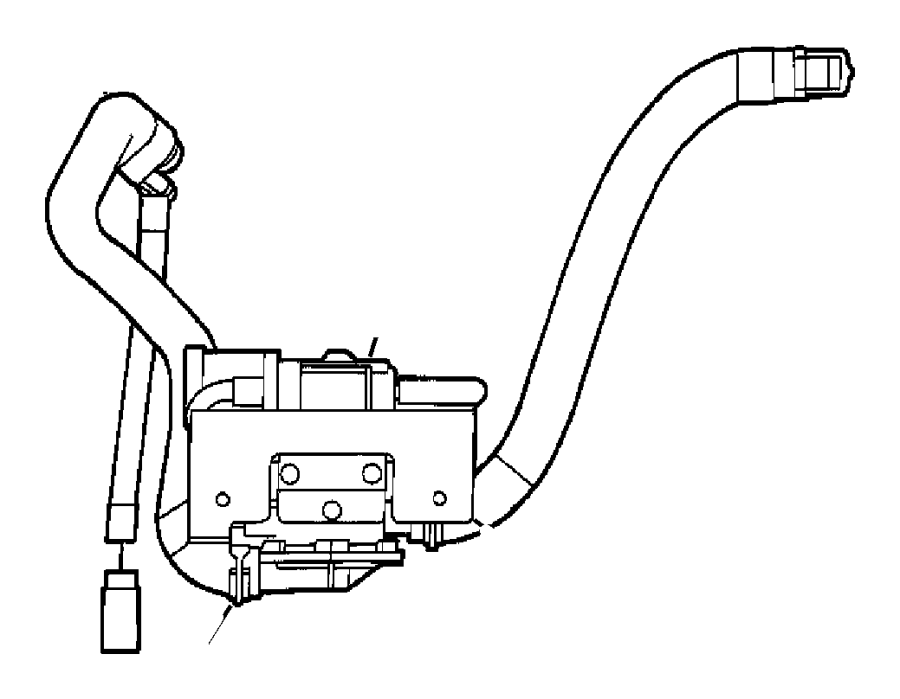 Dodge Caravan Leak Detection Pump