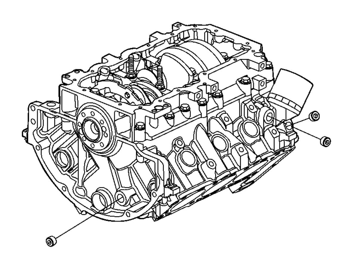 Jeep Liberty Block Engine Short Short Block Conveter