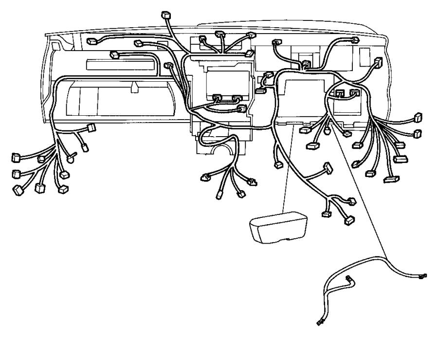 Dodge Durango Wiring Steering Wheel Trim All Trim