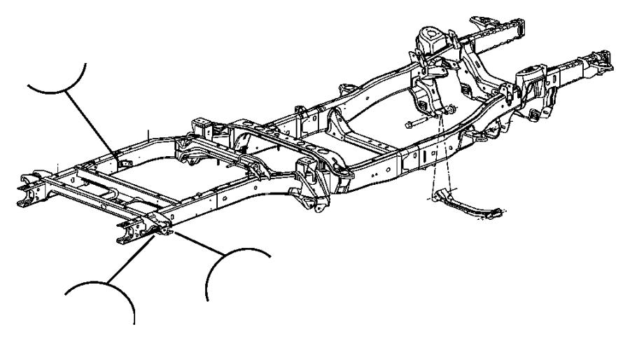 Dodge Ram Engine Mounting Left Side 4wd 5 7l 5