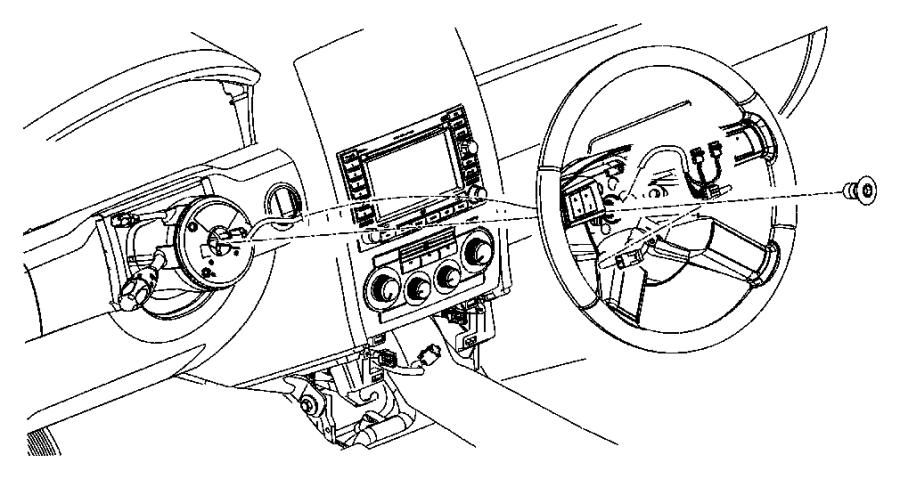 Dodge Charger Wheel Steering J1 Scv Leather