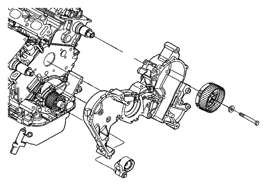 Timing Belt And Covers 4 0l 4 0l V6 Sohc Engine