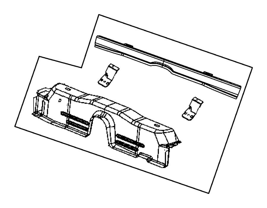 Dodge Challenger Crossmember Floor Pan