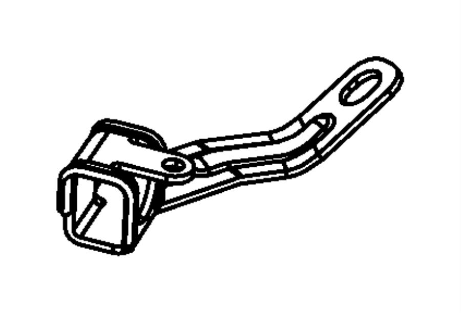Chrysler Town Amp Country Sensor Rear Anti Lock Brakes Brakesreardisc