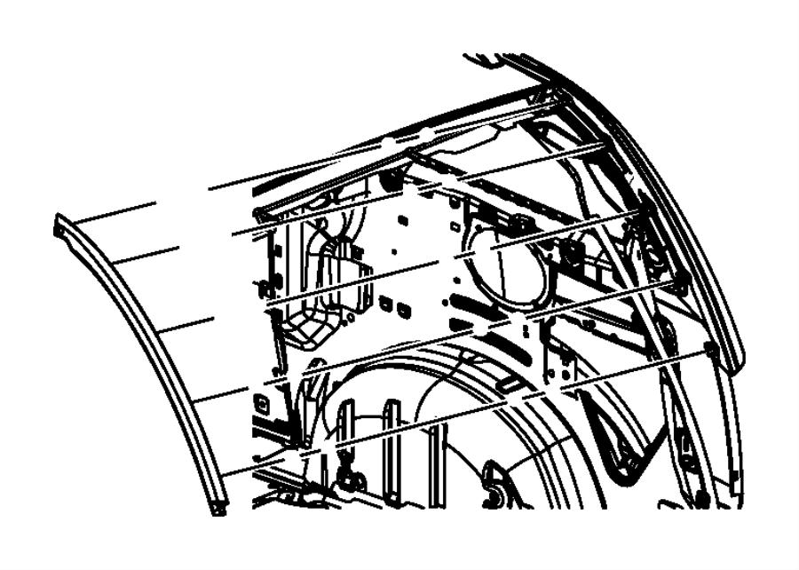 Dodge Grand Caravan Sxt Exterior Ornamentation