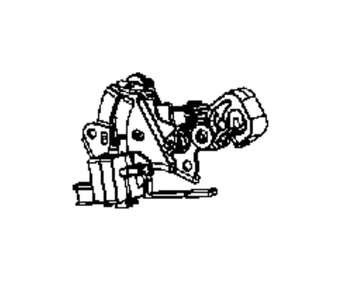 Dodge Ram Bracket Gearshift Trim O0