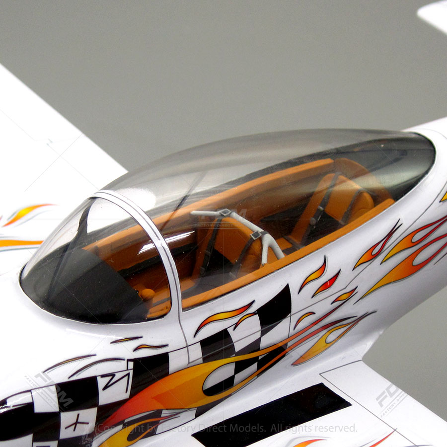 Vans Aircraft RV8 Model With Detailed Interior