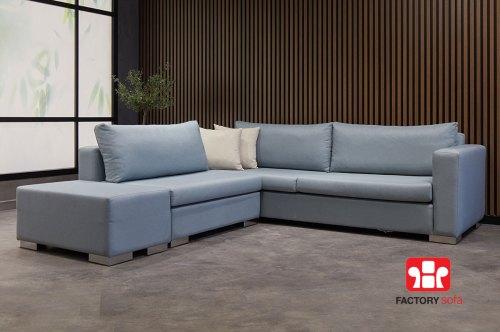 Πολυμορφική γωνία FOLEGANDROS | Σαλόνια Καναπέδες Factory Sofa Προσφορές