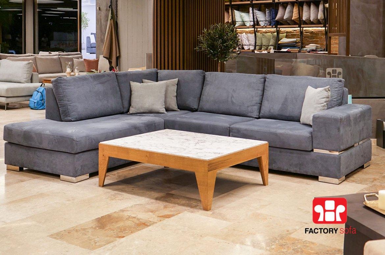 Σαλόνι Γωνία Skyros 2.80m x 2.20m   Σαλόνια Καναπέδες Factory Sofa Προσφορές