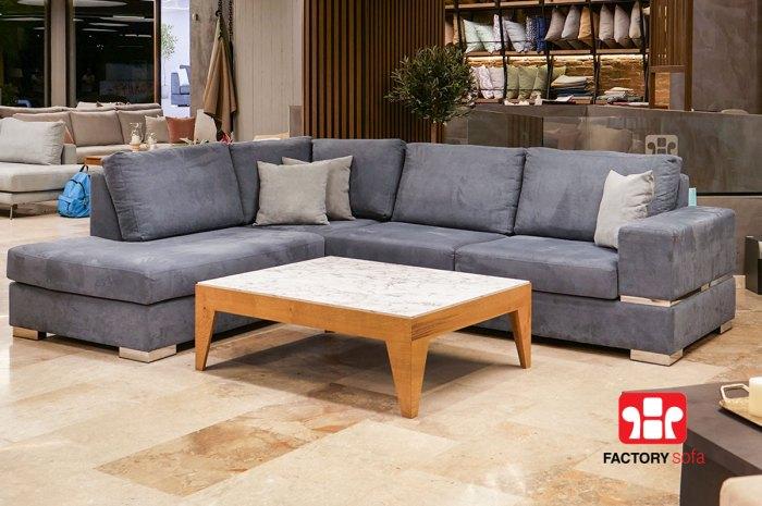 Σαλόνι Γωνία Skyros 2.80m x 2.20m | Σαλόνια Καναπέδες Factory Sofa Προσφορές