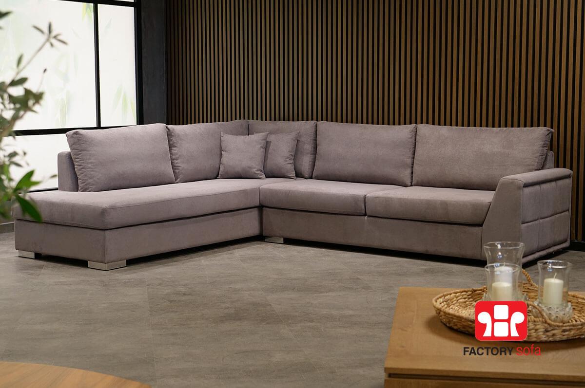 Σαλόνι Γωνία Samos 3.00m x 2.50m | Σαλόνια Καναπέδες Factory Sofa