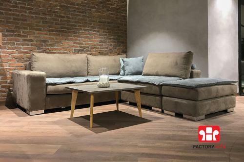Πολυμορφική γωνία AIGINA   Σαλόνια Καναπέδες Factory Sofa Προσφορές