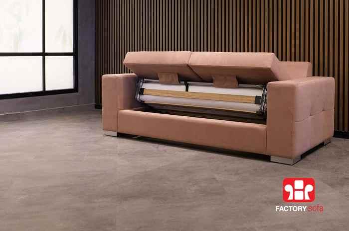 Καναπές Κρεβάτι Sifnos QM με Αναδιπλούμενο Μηχανισμό