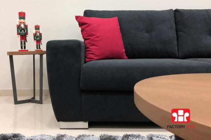 Σαλόνι γωνία Sitia • Διάσταση 2.70 μ. Χ 2.00 μ. • Με αδιάβροχο ύφασμα | Καναπέδες & Σαλόνια Προσφορές Factory Sofa