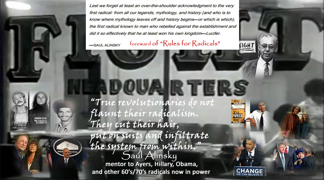 Image result for saul alinsky rules for radicals