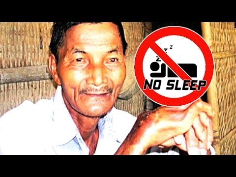 Vietnamese Man Hasn't Slept In Over 40 Years