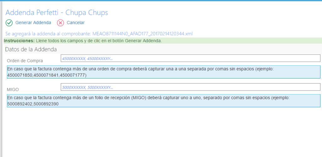 Addenda Chupa Chups