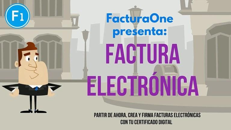 FacturaOne Factura Electrònica