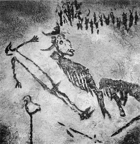 Image result for shaman in lascaux cave