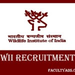 Wildlife Institute of India (WII) Recruitment 2019