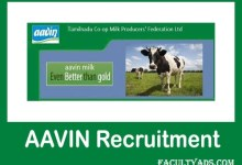 Aavin Madurai Recruitment 2019