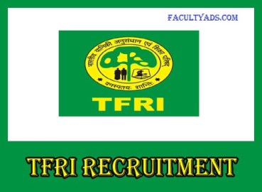 TFRI Recruitment 2019