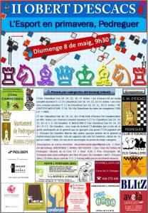 Cartel Torneo Pedreguer