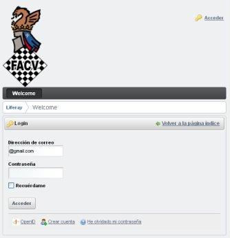 federación ajedrez comunidad valenciana aplicación