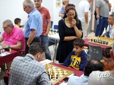 Sala de juego del torneo de ajedrez