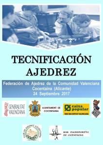 TECNIFICACIÓN AJEDREZ COCENTAINA