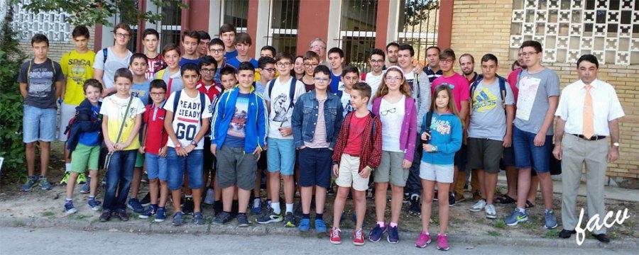 jovenes ajedrecistas comunidad valenciana