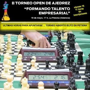 II OPEN FORMANDO TALENTO @ Centro Cultural y Deportivo La Petxina | València | Comunidad Valenciana | España