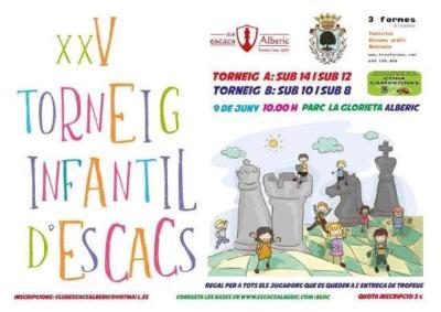 TORNEIG D'ESCACS FIRA SANT JOAN @ Parc La Glorieta d'Alberic | Alberic | España