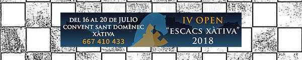 banner open ajedrez Xátiva