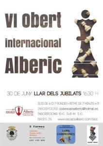OBERT INTERNACIONAL ALBERIC @ Bar Llar dels Jubilats d'Alberic | Alberic | Comunidad Valenciana | España