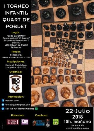 torneo infantil ajedrez