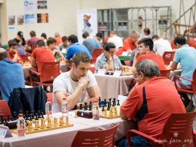 sala de juego ajedrez