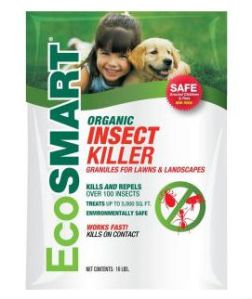 ecosmart lawn insect killer bag