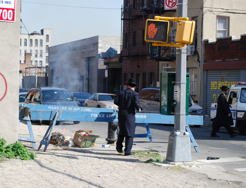Burning the Bread on Flushing Avenue