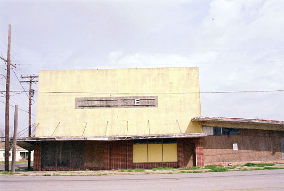 Derelict Golden Steer Restaurant