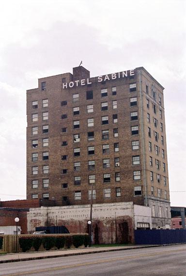 Derelict Hotel Sabine