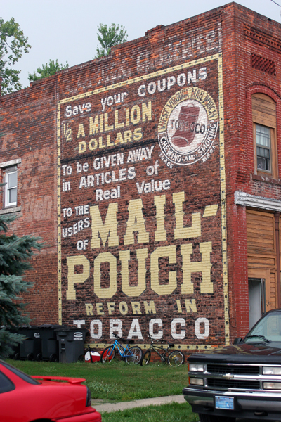 Mail Pouch Tobacco - Red Key, Indiana - Bob Kisken
