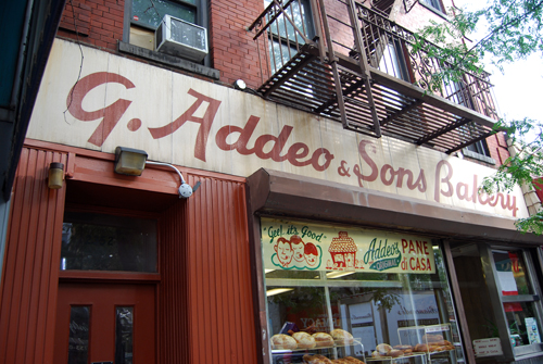 Addeo Bakery - Arthur Avenue - Bronx - © Vincenzo Aiosa