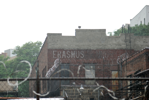 As seen from Franklin Avenue © Frank H. Jump