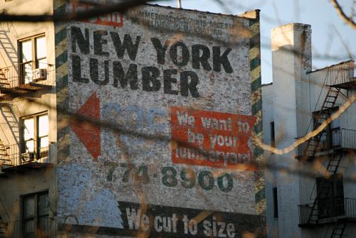 New York Lumber (extant) - Utica Avenue & Empire Blvd - Crown Heights, Brooklyn