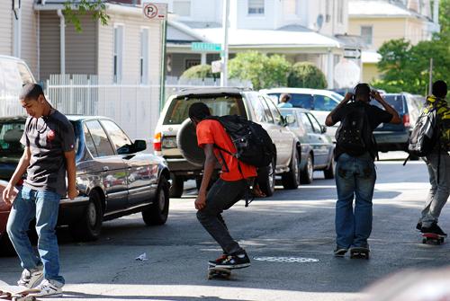 Flatbush Skateboarders