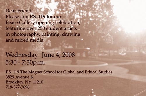 PS 119 Invite