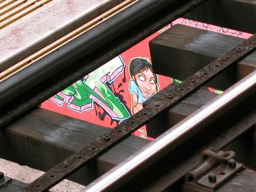 Views from the J Train Platform - Myrtle Avenue