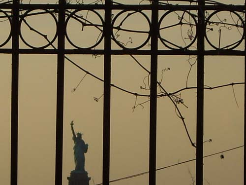 Liberty View from Red Hook