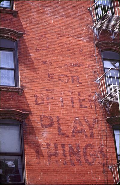 Play Things - Williamsburg, Brooklyn